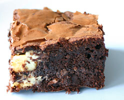 Dark brownie